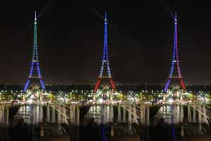 Lucky Selfie Fotobox - Hintergrund Frankreich & Paris - Bildvorlage 072