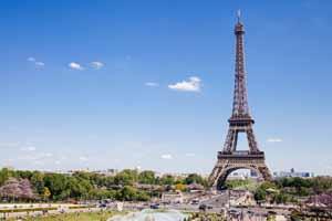 Lucky Selfie Fotobox - Hintergrund Frankreich & Paris - Bildvorlage 074