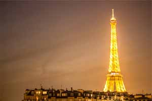 Lucky Selfie Fotobox - Hintergrund Frankreich & Paris - Bildvorlage 075