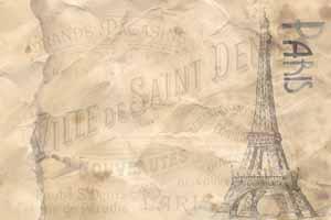Lucky Selfie Fotobox - Hintergrund Frankreich & Paris - Bildvorlage 076