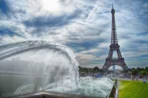 Lucky Selfie Fotobox - Hintergrund Frankreich & Paris - Bildvorlage 079